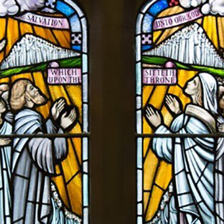 stained glass at st augustines